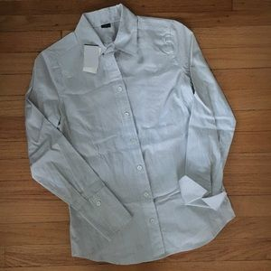 J. Crew Outlet dress shirt with French cuffs, NWT